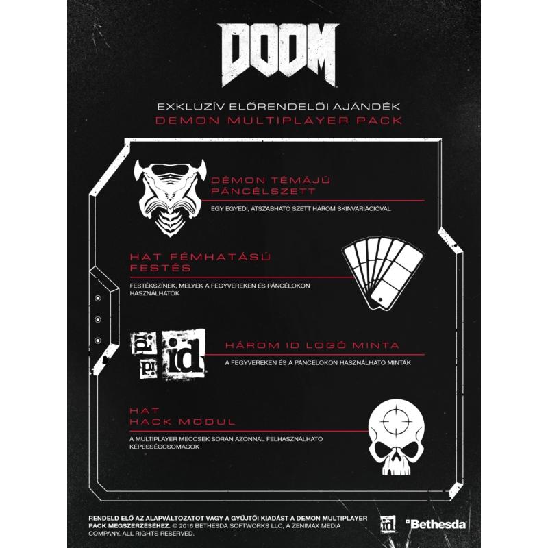 Doom + Előrendelői DLC