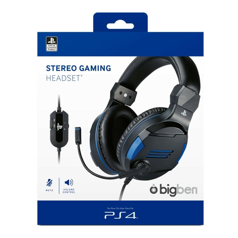 Bigben Stereo Gaming Headset (Fekete)