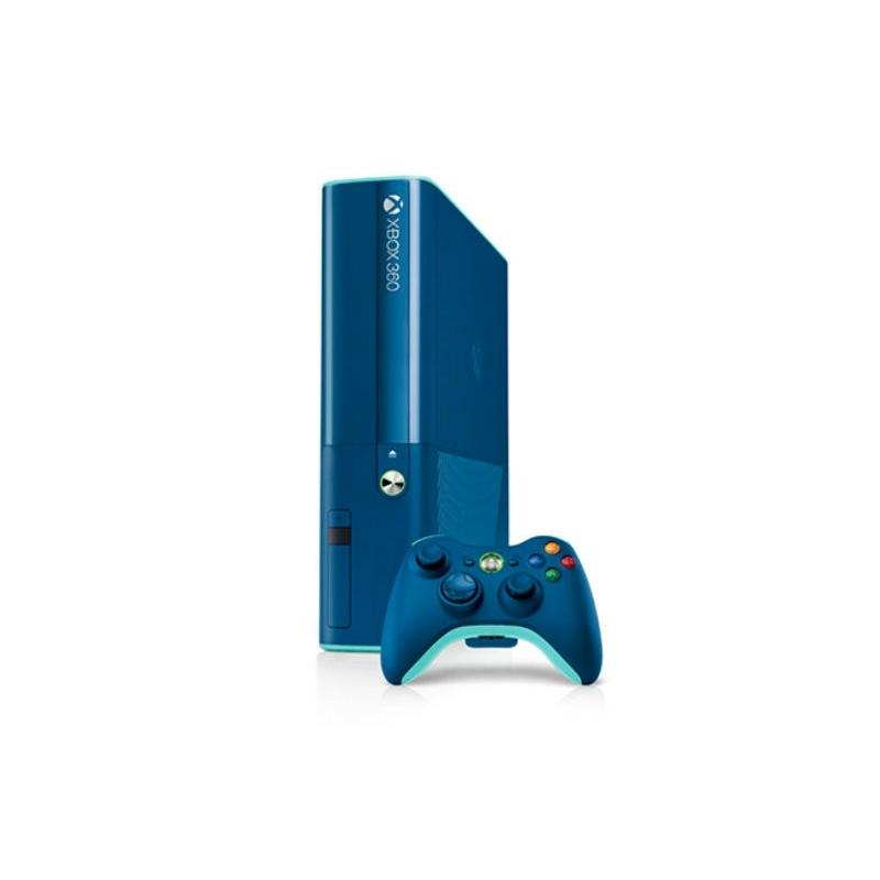 Xbox 360 Slim E 500GB Kék (használt)