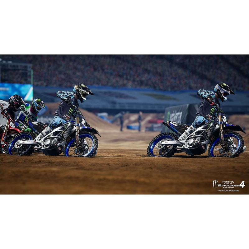 Monster Energy Supercross - The Official Videogame 4 (XBOX Series X)