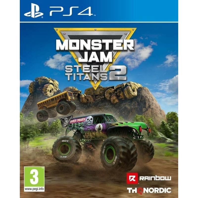 Monster Jam Steel Titans 2 (PS4)