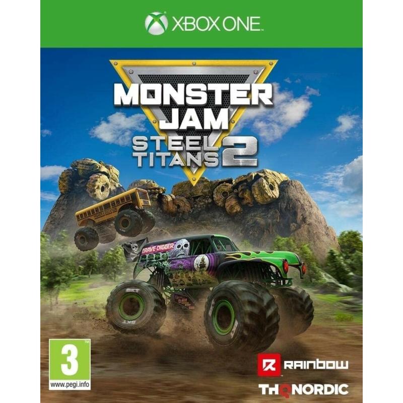 Monster Jam Steel Titans 2 (XSX | XONE )