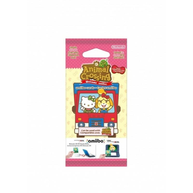 Amiibo Animal Crossing Card Sanrio kiegészítő kártyák
