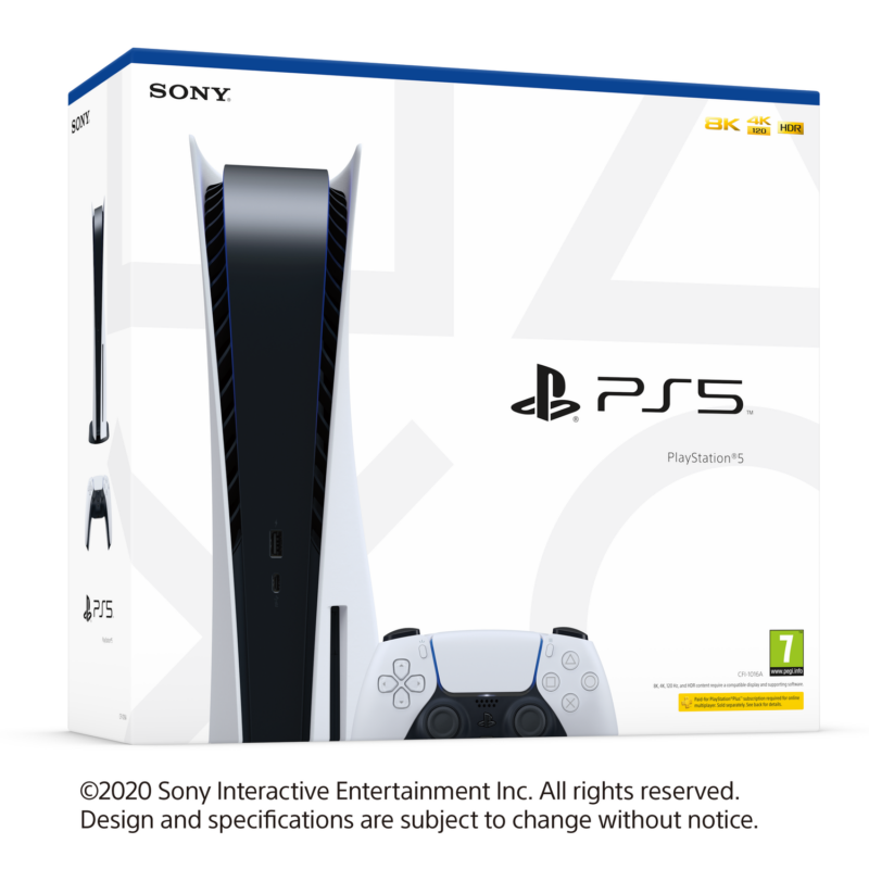 Sony PlayStation®5 (PS5) + Ratchet & Clanck Rift Apart játék