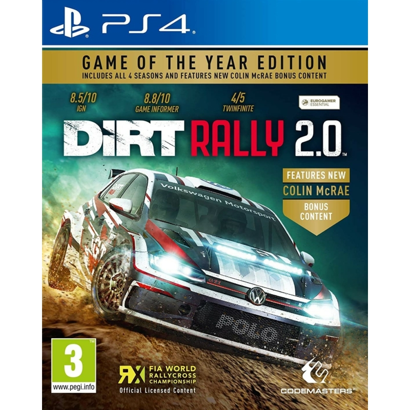 Dirt Rally 2.0 Game of the Year Edition (PS4)