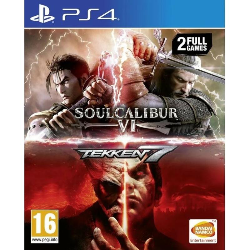 Tekken 7 + Soul Calibur VI (PS4)