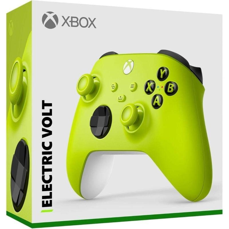 Xbox Wireless Controller (Electric Volt) (QAU-00022)