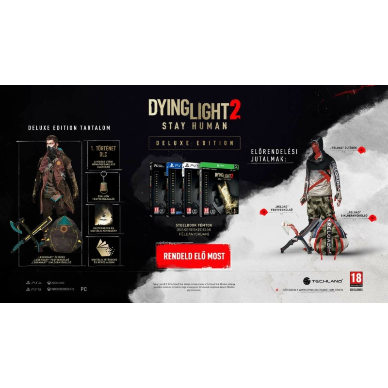 Dying Light 2 Deluxe Edition (PS4)
