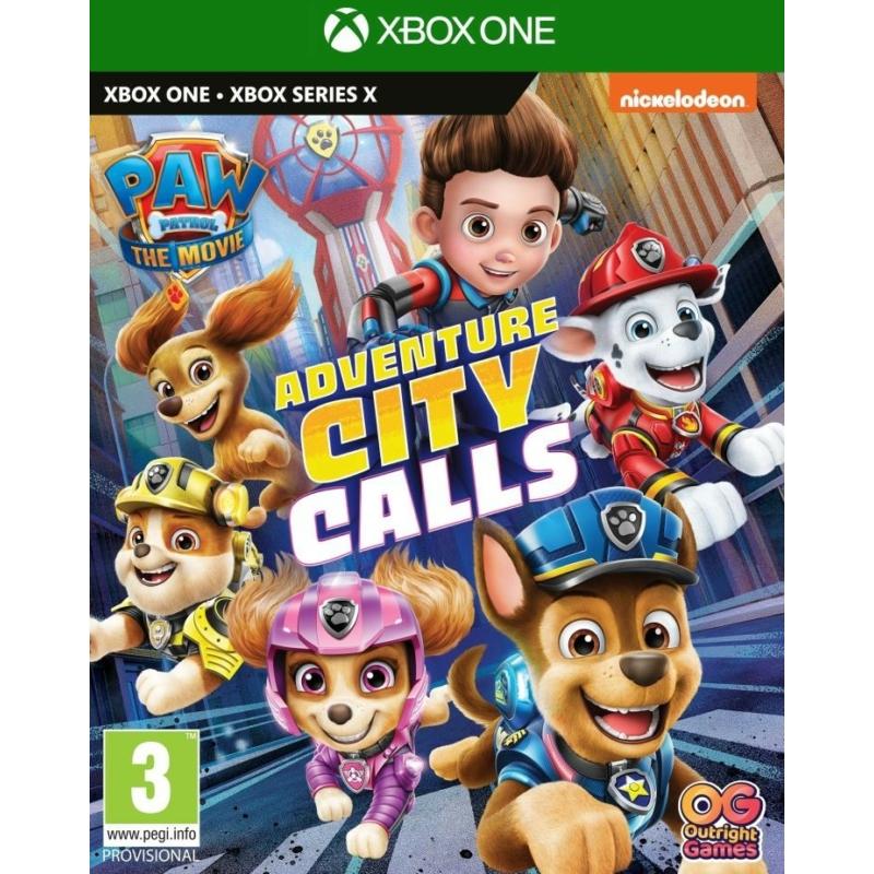 Paw Patrol The Movie: Adventure City Calls  (Xbox One)