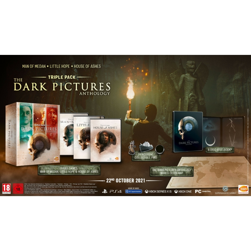 The Dark Pictures Anthology Triple Pack (PS4)