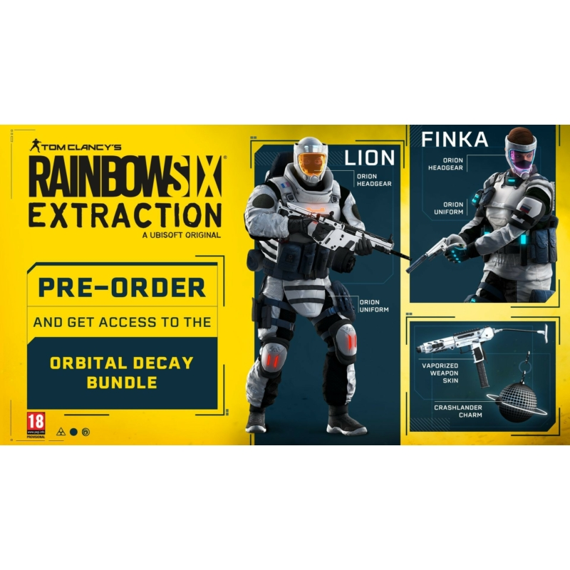 Tom Clancys Rainbow Six Extraction Deluxe Edition (PS5)