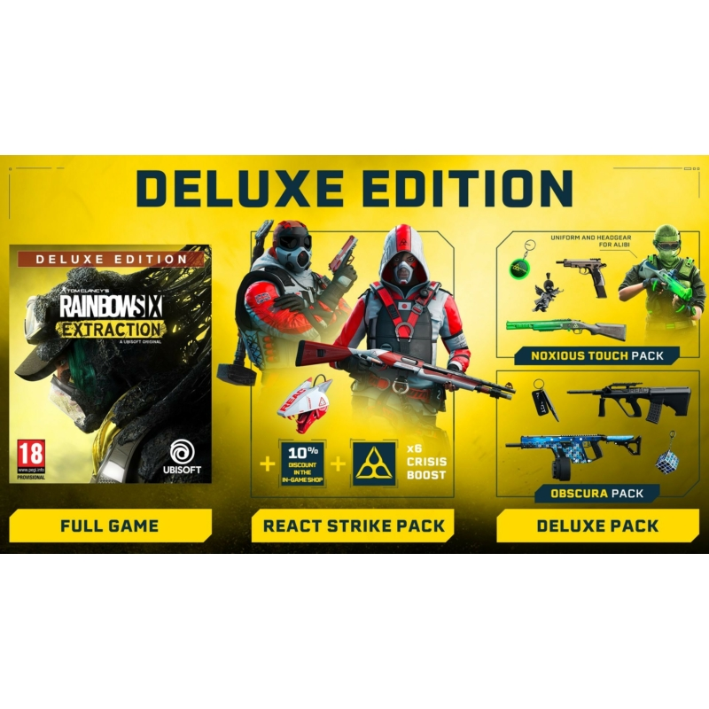 Tom Clancys Rainbow Six Extraction Deluxe Edition (PS4)