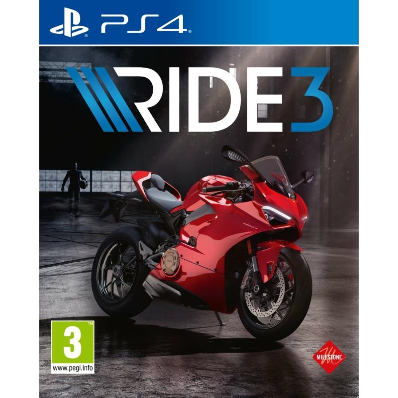RIDE 3 (PS4) + előrendelői DLC