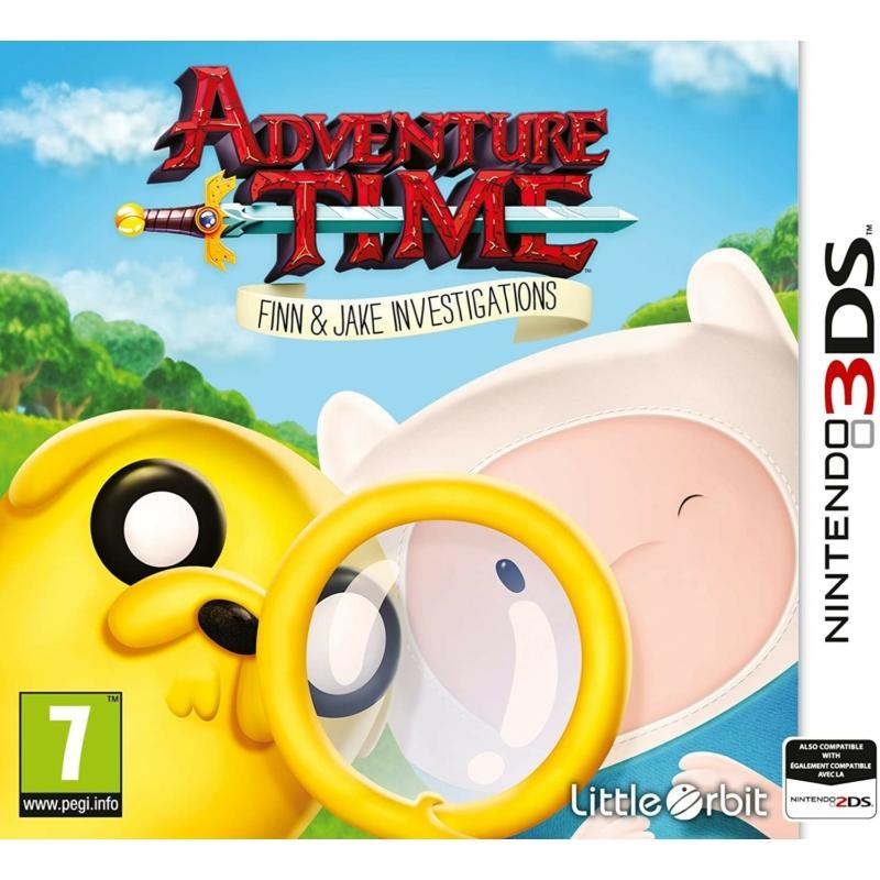 Adventure Time Finn and Jake Investigations (3DS) (használt)