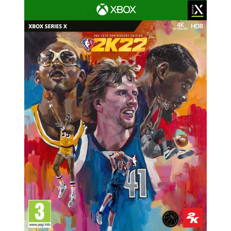NBA 2K22 75th Anniversary Edition (XSX)