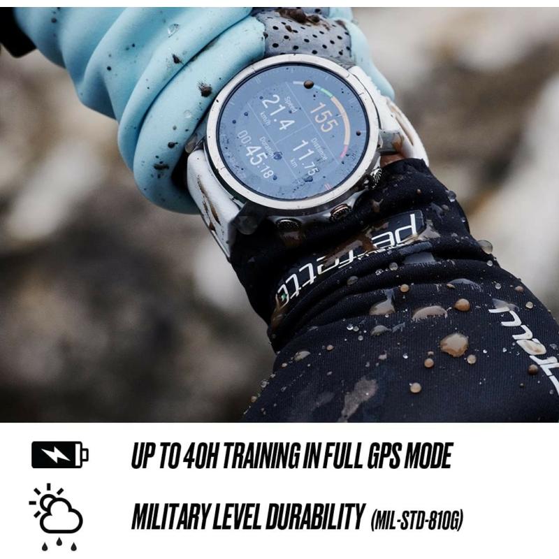 Polar Grit X multisport óra M/L méret - Fekete