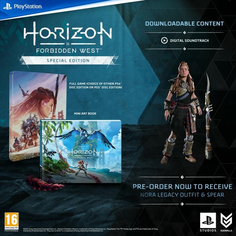 Horizon Forbidden West Special Edition (PS5) (Magyar felirattal)