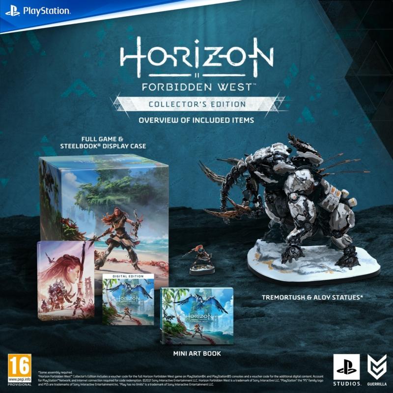 Horizon Forbidden West Collector's Edition (PS5) (Magyar felirattal)