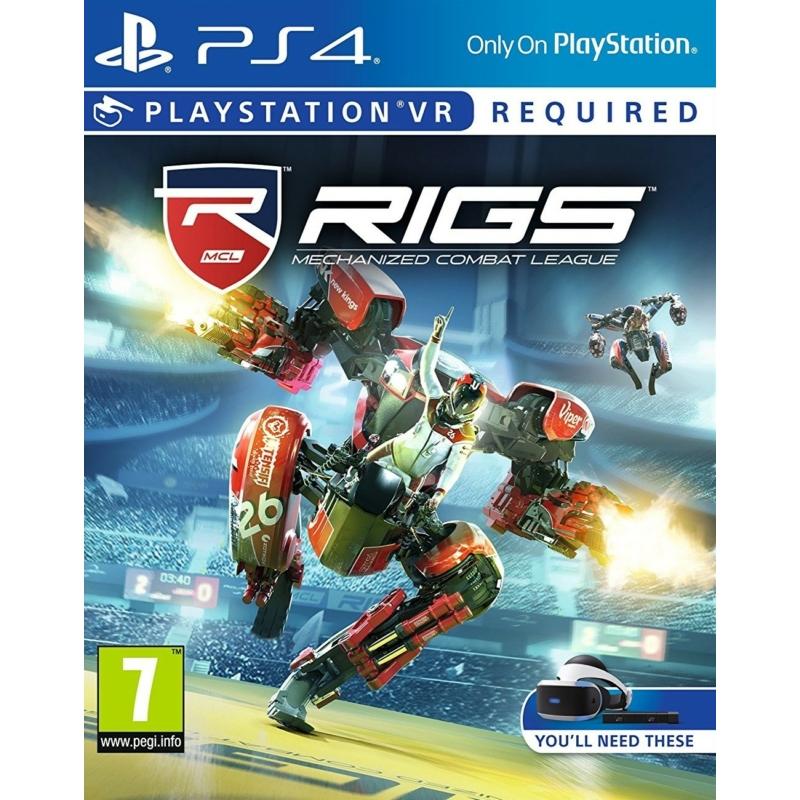RIGS Mechanized Combat League (VR)