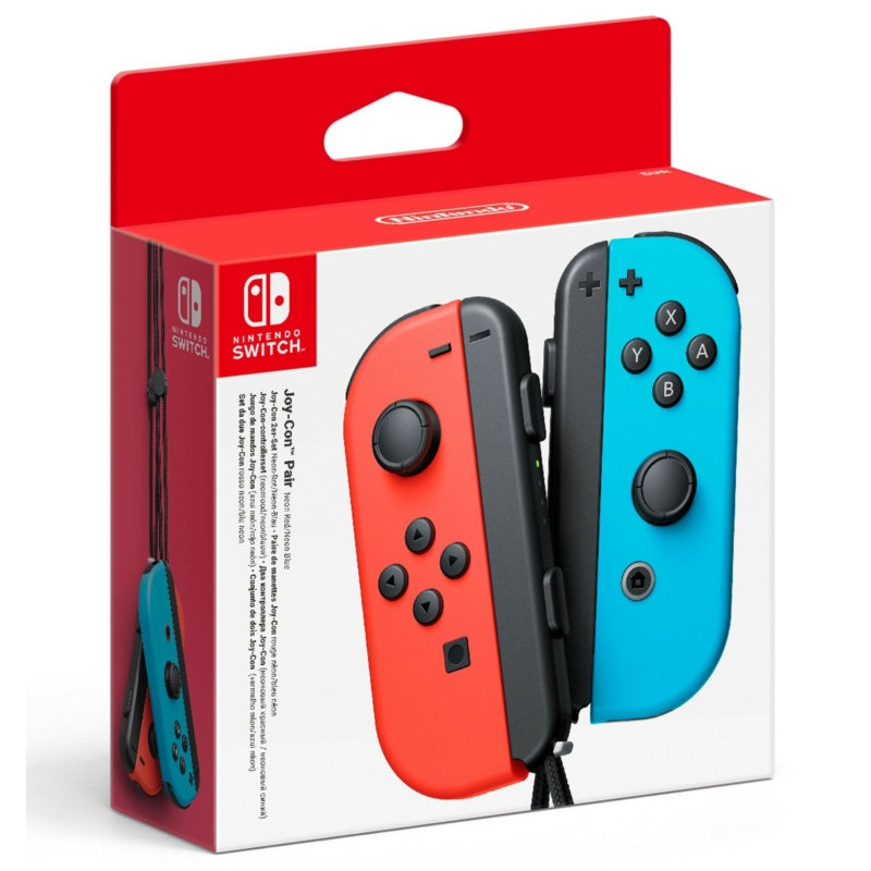 Nintendo Switch Joy-Con Pair (Piros-Kék)