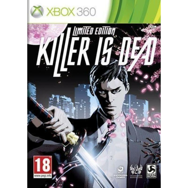 Killer is Dead Limited Edition + Artbook