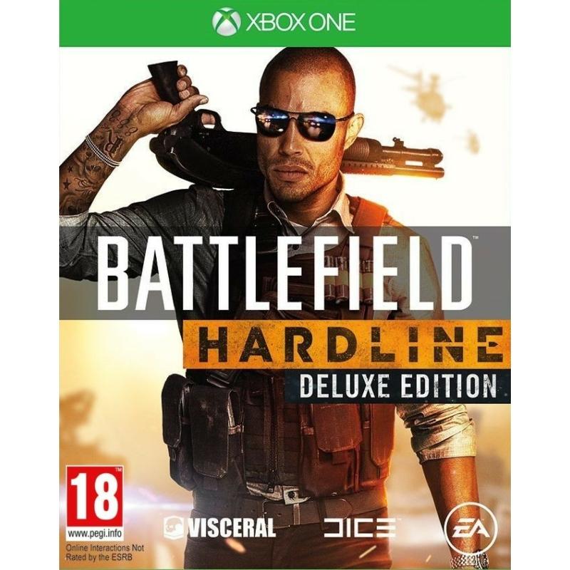 Battlefield Hardline Deluxe Edition + Póló + Hűtőmágnes