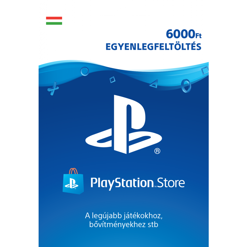 PlayStation Network Card 6000Ft